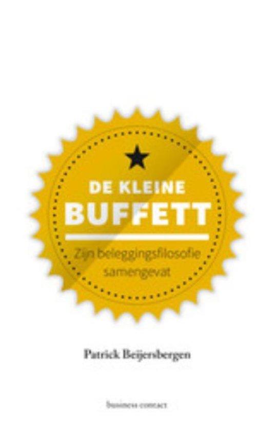 Boek cover De kleine buffett van Patrick Beijersbergen (Hardcover)