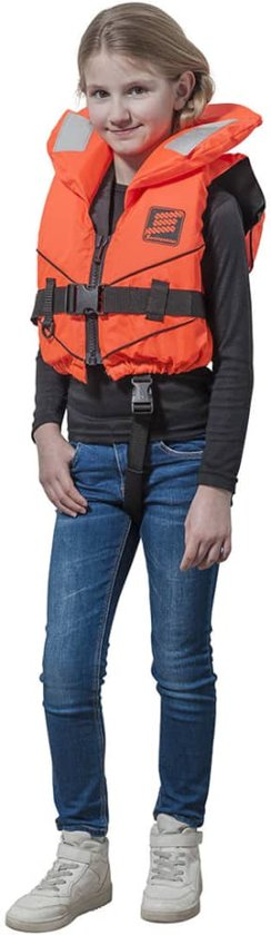 Seilflechter reddingsvest Tornado oranje junior maat XS