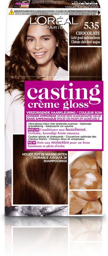 Top bol.com | L'Oréal Paris Casting Crème Gloss 535 - Licht Goud  @FM04