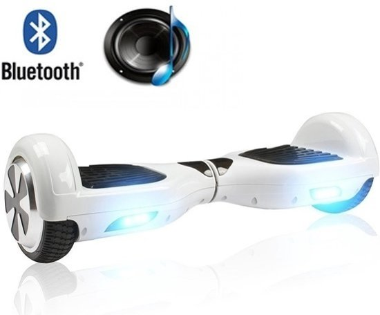 Nieuw bol.com | Bluetooth Hoverboard / Oxboard Wit met Samsung power SP-54