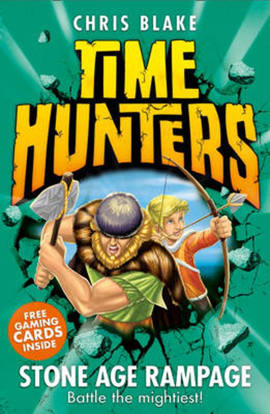 Stone Age Rampage (Time Hunters, Book 10)