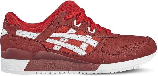 Gel Asics De Lyte Iii, Chaussures De Sport Mixte Pour Adultes - Rouge - 45 Eu