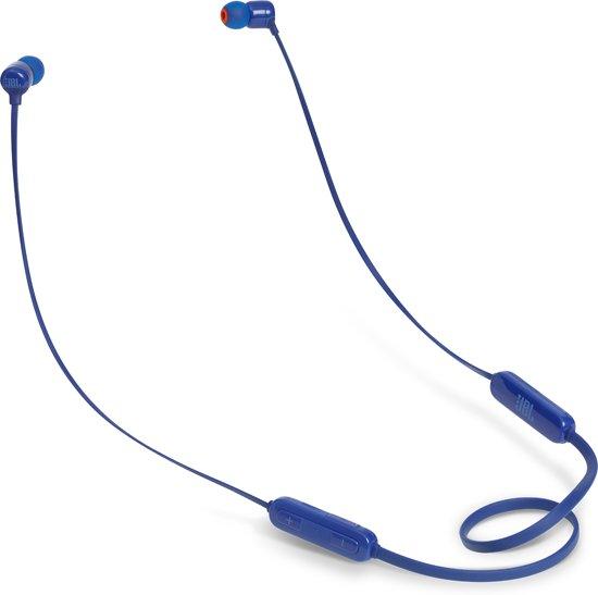 JBL T110BT -  Draadloze in-ear oordopjes - Blauw