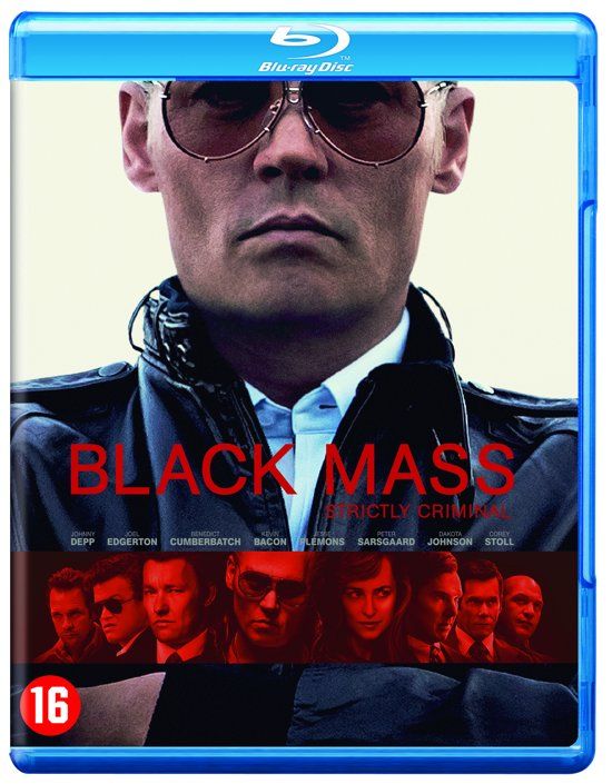 DVD cover van Black Mass (Blu-ray)
