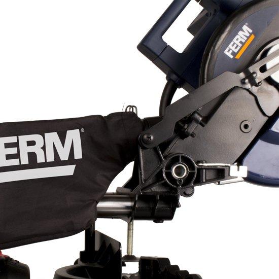 FERM Afkortzaag Radiaalafkortzaag 2000W-255mm