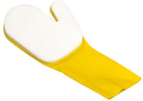 Gre Handschoenen voor reinigen waterlijn geel