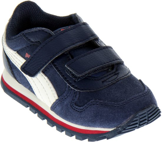 35ae8ca3c8e Puma ST Runner Sneakers Kids Sportschoenen - Maat 25 - Unisex - blauw/rood/