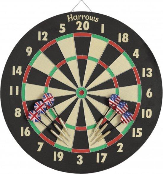Bol Com Harrows Darts Dartbord Eric Bristow Family Dart Game