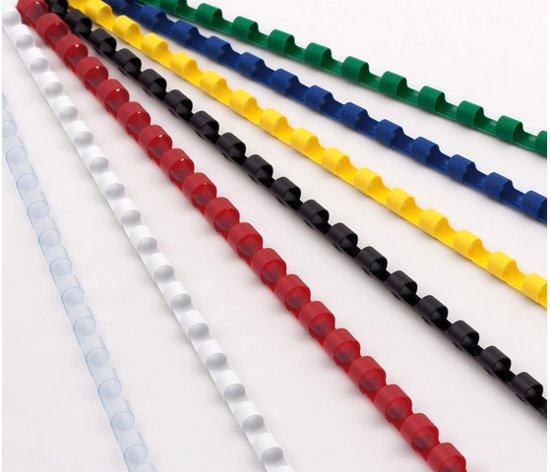 bindruggen ProfiOffice 21 rings 100 stuks 10mm wit