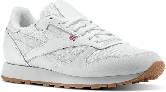9cb2aab0588 bol.com | Reebok Sneakers Classic Leather Estl Heren Wit Maat 41