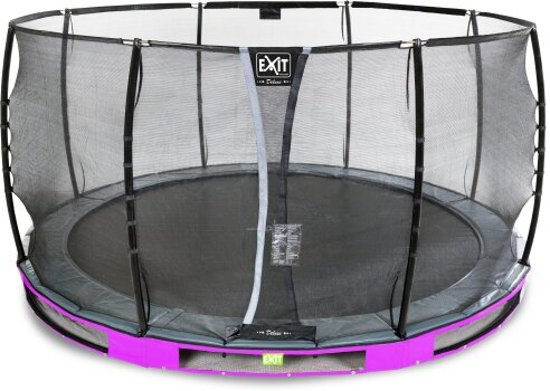 """EXIT Elegant Inground Trampoline à 366 cm met Deluxe Veiligheidsnet """