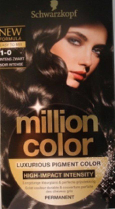 Schwarzkopf Million Color 1-0 - Haarverf