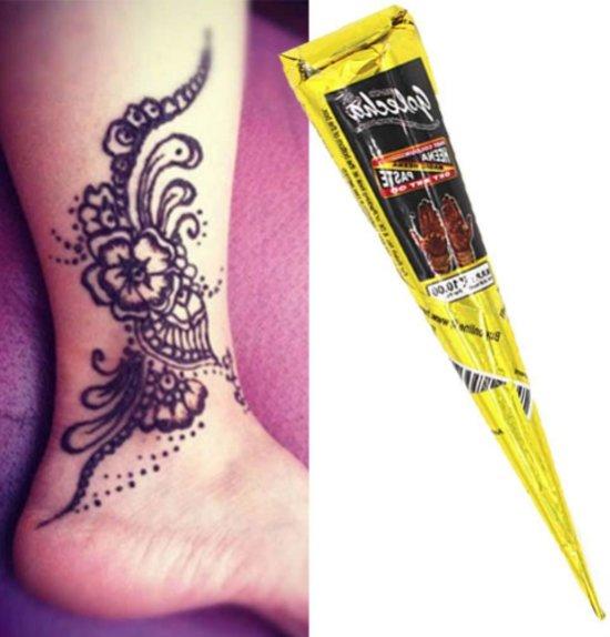 Henna Smeersel Pasta Henna Tattoo Inkt