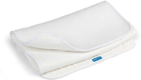 Aerosleep BabyProtect matrasbeschermer 40x90 cm - Wit