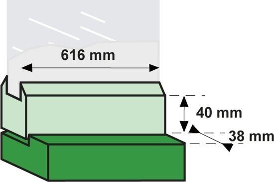 Axa Tele-Uitzetter Lang - 45 cm