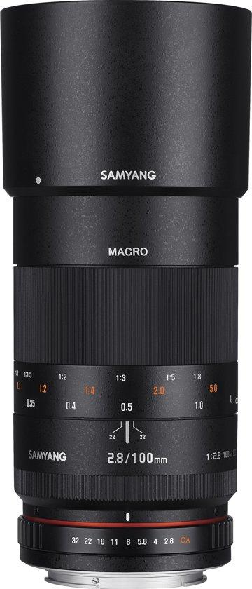 Samyang 100mm F2.8 ED UMC Macro - Prime lens - geschikt voor alle Sony A spiegelreflexcamera's in Molenstad