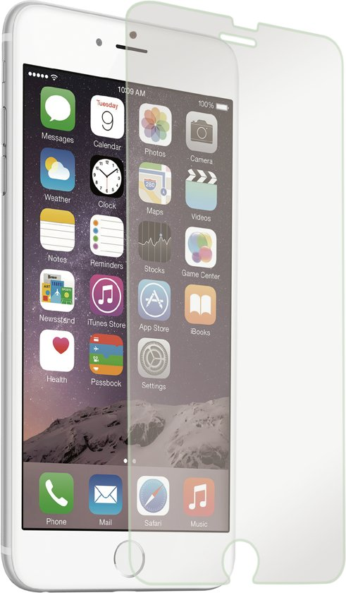 BeHello Tempered Glass Screenprotector voor Apple iPhone 6/6s - Glanzend Transparant in Ureterp aan de Vaart / Oerterp oan de Feart