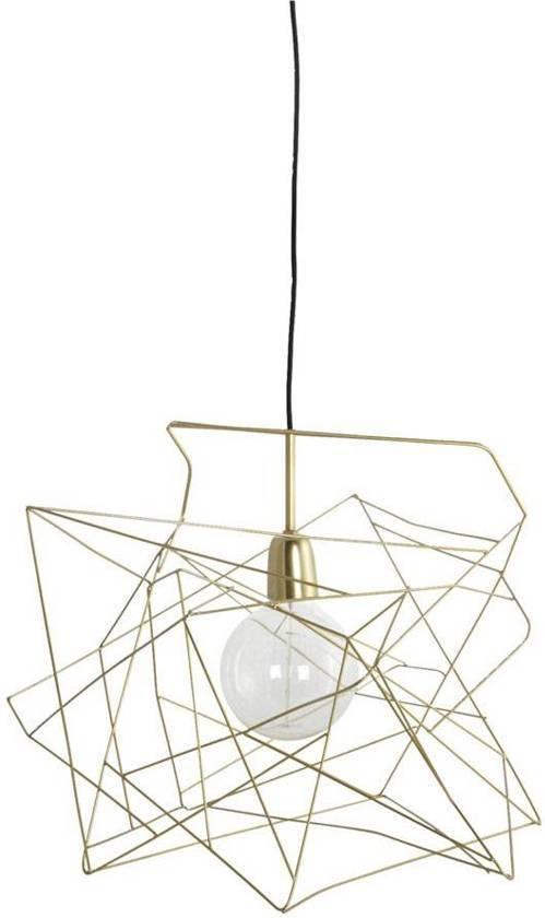 Bol Com House Doctor Lampenkap Asymmetric Shiny Gold