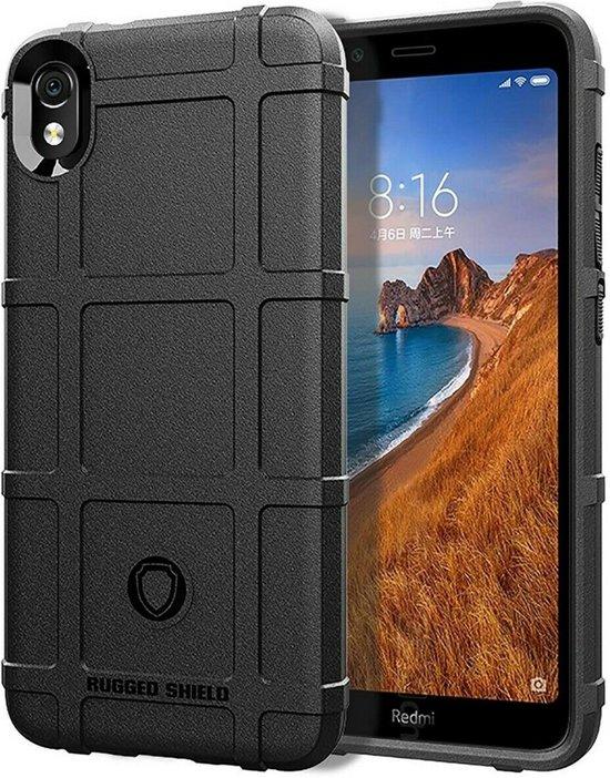 Xiaomi Redmi 7A hoes - Heavy Armor TPU Bumper - Zwart