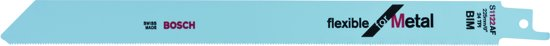 Bosch - Reciprozaagblad S 1122 AF Flexible for Metal - 5 stuks