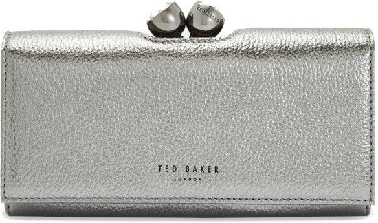 99d27e54e80 Ted Baker Muscovy Silver Drukknop Portemonnee TB147472S
