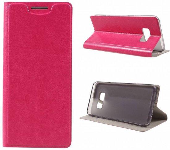 GSMWise - Samsung Galaxy S8 - PU lederen Bookcase Hoes met Pashouder - Roze in Rewert / Rewerd
