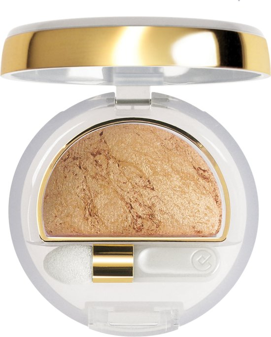 Collistar Double Effect Wet & Dry Eyeshadow - 5 Bright Gold - Oogschaduw