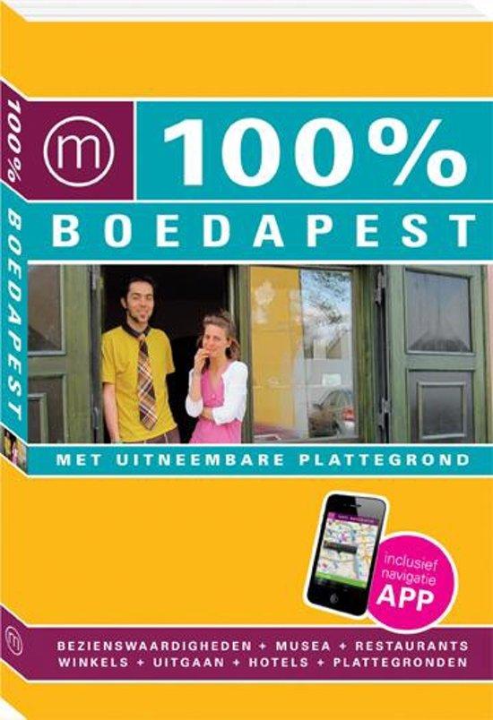 Boek cover 100% stedengidsen - 100% Boedapest van Annelies Pilon (Paperback)