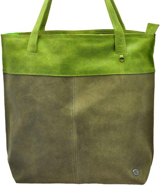 30562fd934d bol.com   MoreThanHip Estilo shopper ecoleer legergroen-groen