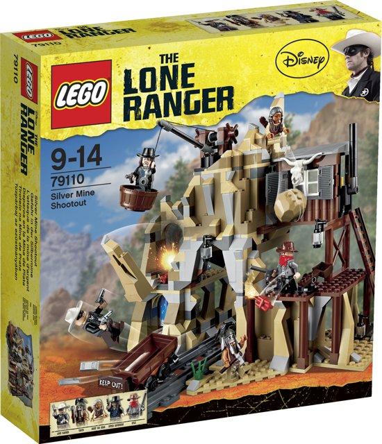 LEGO Lone Ranger Zilvermijn Vuurgevecht - 79110