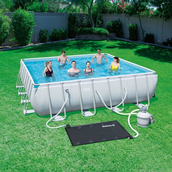 Bestway Solar zwembadverwarmingspaneel zwart 58423