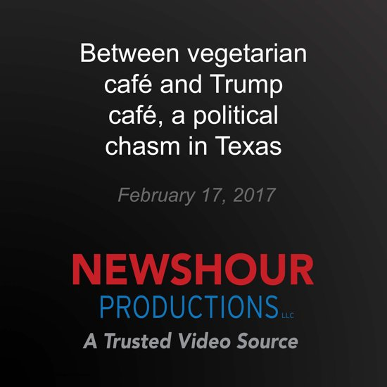Between vegetarian café and Trump café, a political chasm in Texas