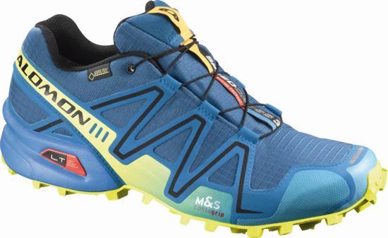73856379f6f Salomon Speedcross 3 GTX Trail - Hardloopschoenen - Mannen - Maat 43.5 -  Blauw/Geel