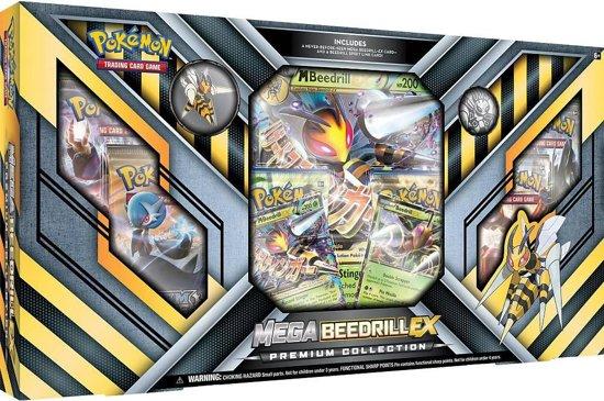 Bol Com Pokemon Kaarten Tcg Mega Beedrill Ex Premium