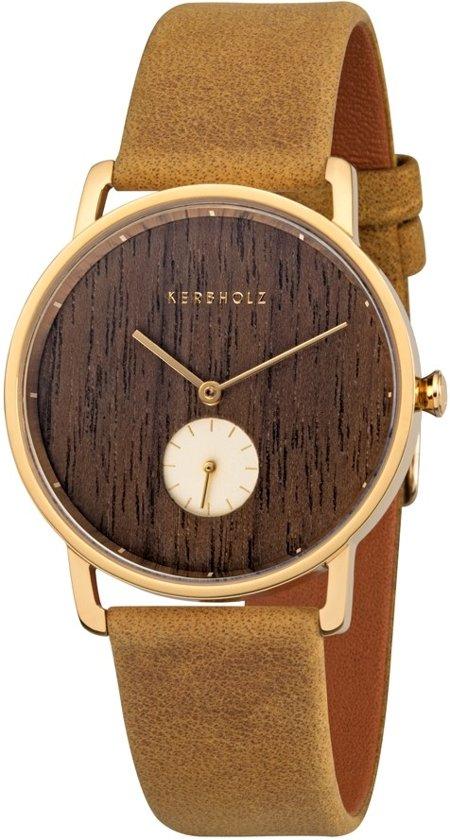 Kerbholz Frida Walnut Horloge