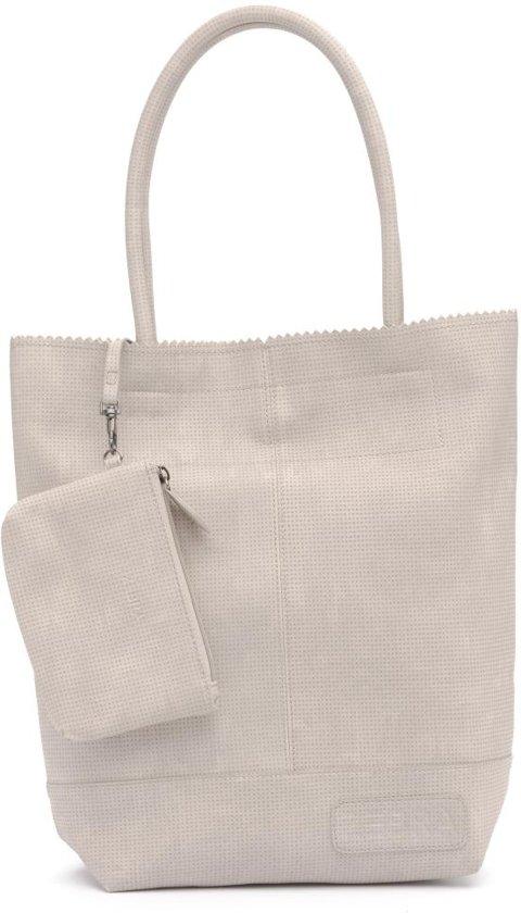 Zebra Trends Natural Bag vintage kartel light grey
