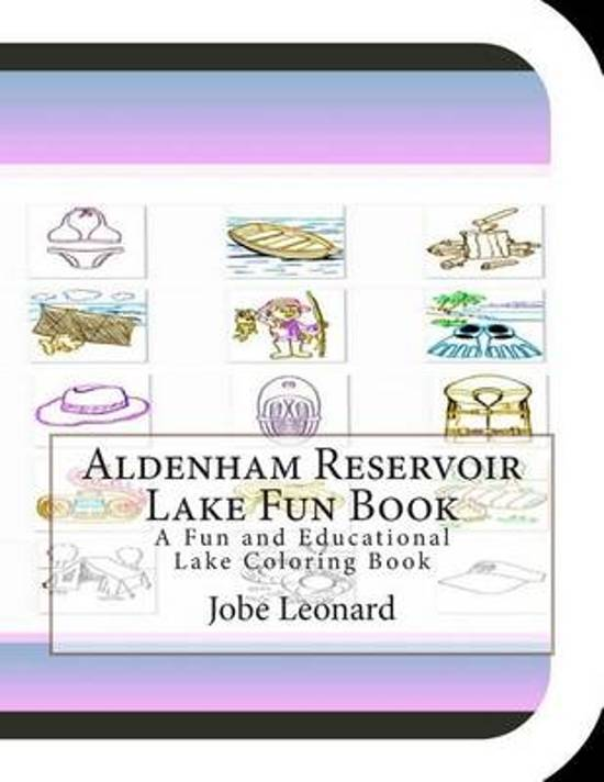 Aldenham Reservoir Lake Fun Book