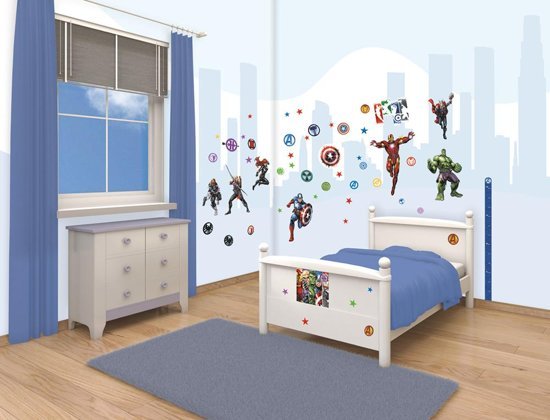 Avengers Muurstickers - Walltastic - 66 stickers