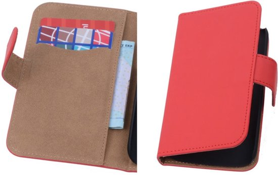 Rood Samsung Galaxy Core i8260 Book/Wallet Case/Cover