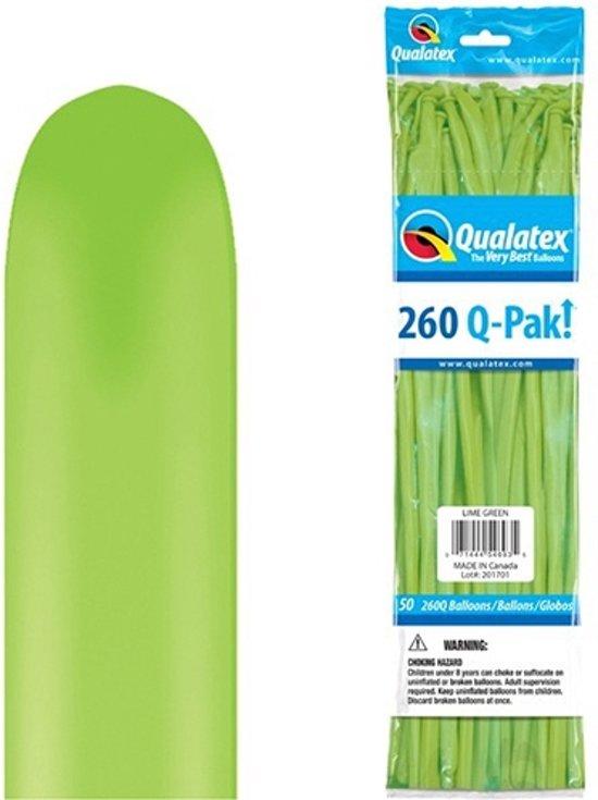 Q-Pak Lime Green 260Q (50 stuks)