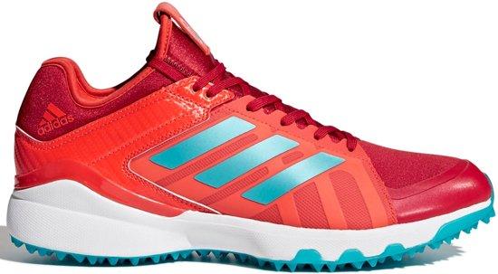 Adidas Hockey Lux Hockeyschoenen Outdoor schoenen rood 42 23