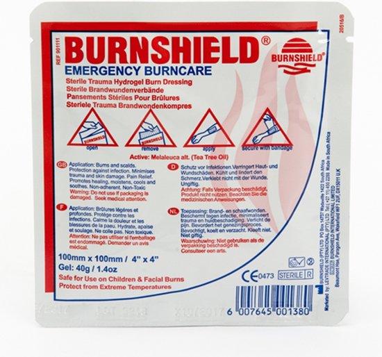Burnshield - 10 x 10 cm - Brandwondenpleister
