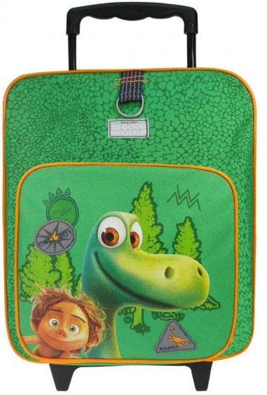The Good Dinosaur Call Out - Rugzaktrolley - Kinderen - Groen