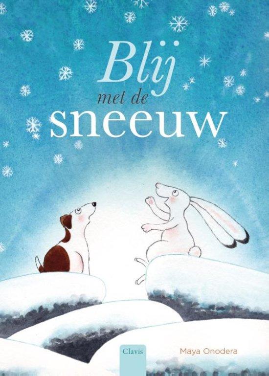 Blij met de sneeuw