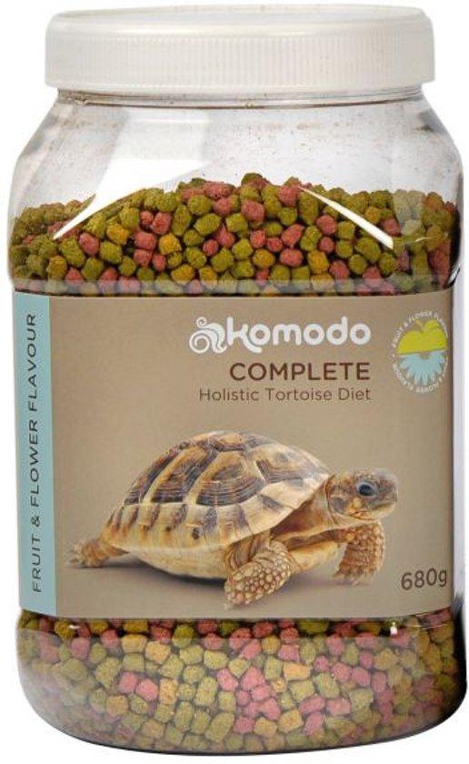 Komodo Schildpadvoer - Fruit/Bloem - 680 gr