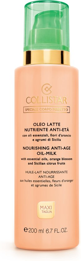 Collistar Nourishing Anti-Age Oil Milk Body Oil 200 ml
