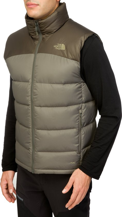 4fe4338573 The North Face Nuptse 2 vest Heren olijf Maat L
