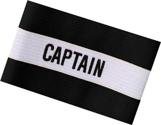 Sportec Aanvoerdersband Captain Pupil Zwart