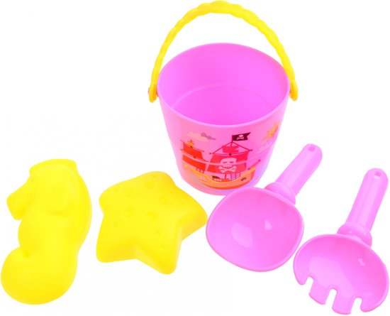 Free And Easy Emmerset 8 Cm 5-delig Roze
