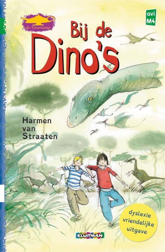 Dyslexie uitgave Bij de Dino's